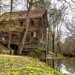 Kymulga Mill in Springtime 5X4